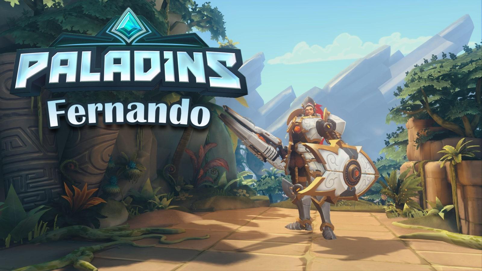 Paladins — гайд-билд на Фернандо