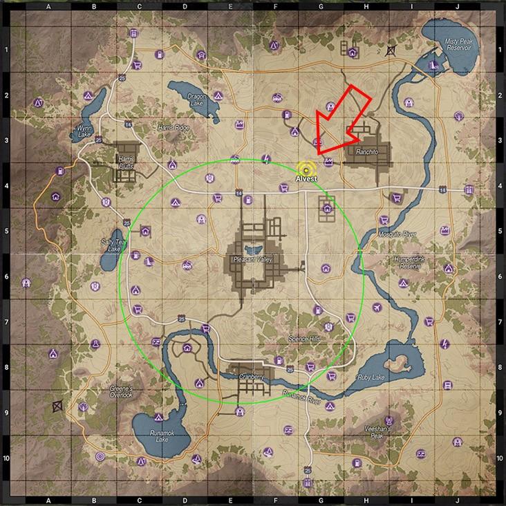 новая карта H1Z1