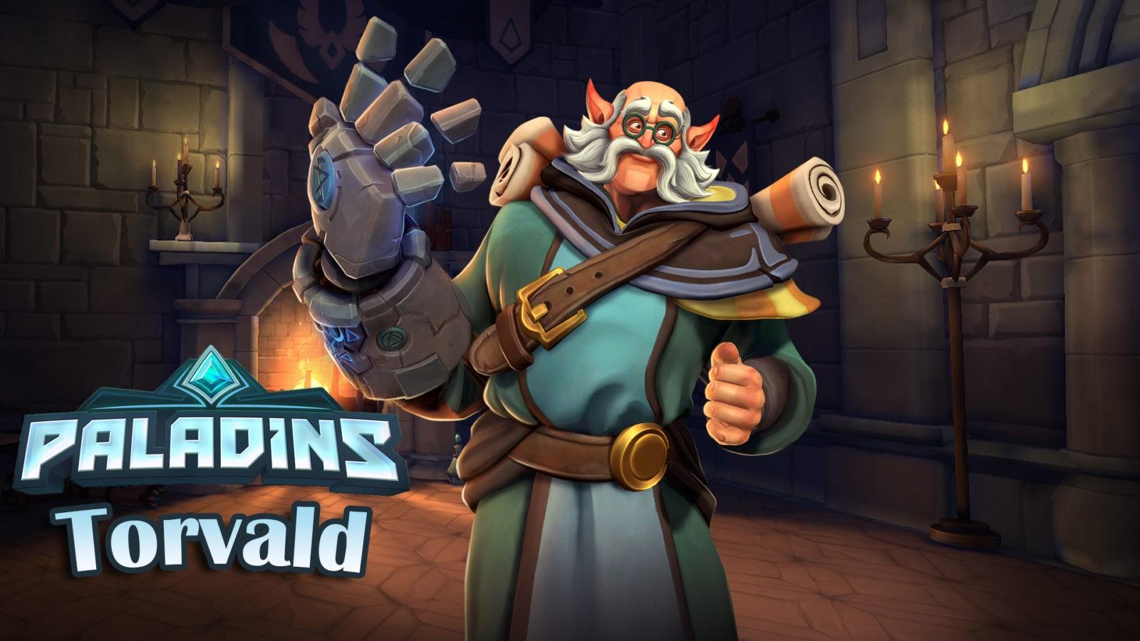 Paladins — гайд-билд на Торвальда