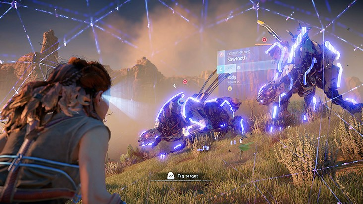 Гайд Horizon: Zero Dawn — уязвимость роботов