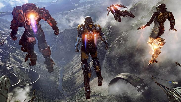 E3 2017 — геймплейный ролик Anthem