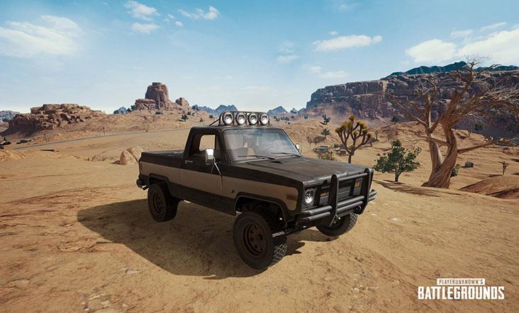 авто для пустынной карты