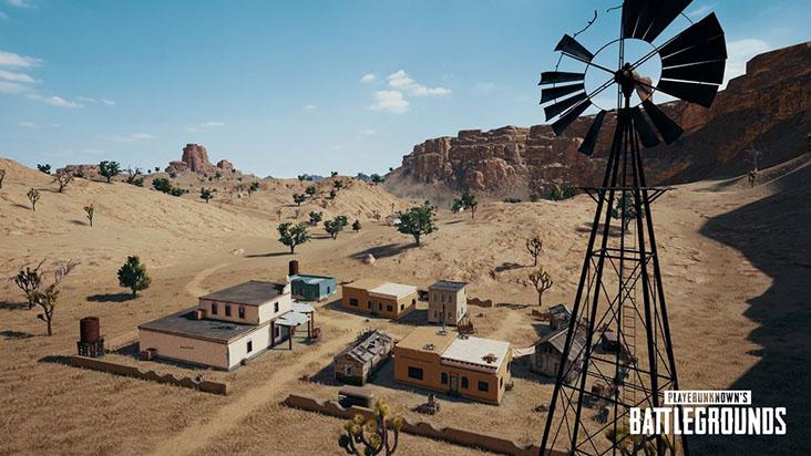 Мирамар — новая карта PlayerUnknown's Battlegrounds