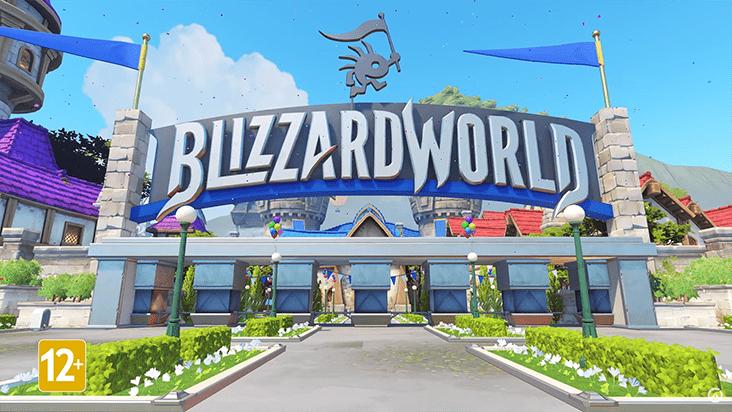 Overwatch — новая карта Blizzard World