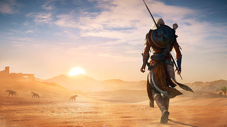 Assassin's Creed Origins взломана