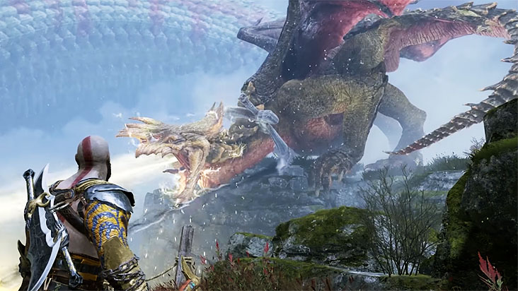 Гайд God of War — освобождение трех драконов