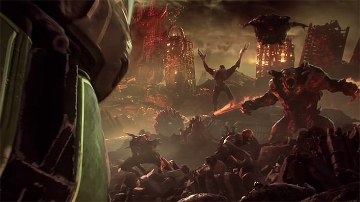 E3 2018 — анонс DOOM Eternal