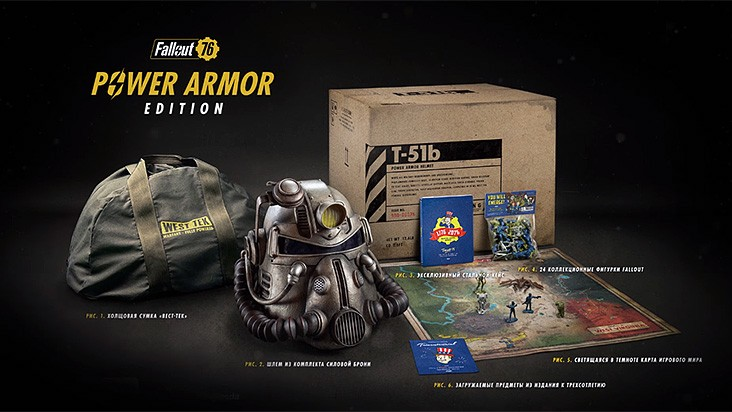Е3 2018 — коллекционное издание для Fallout 76