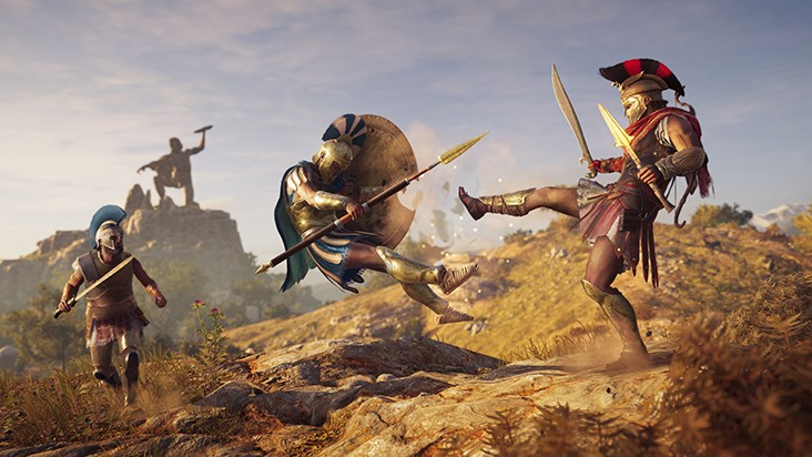 E3 2018 — трейлер, геймплейный ролик и подробности Assassin's Creed Odyssey
