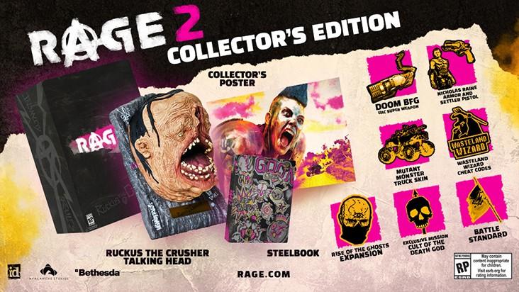 Коллекционное издание Rage 2 — что входит в набор