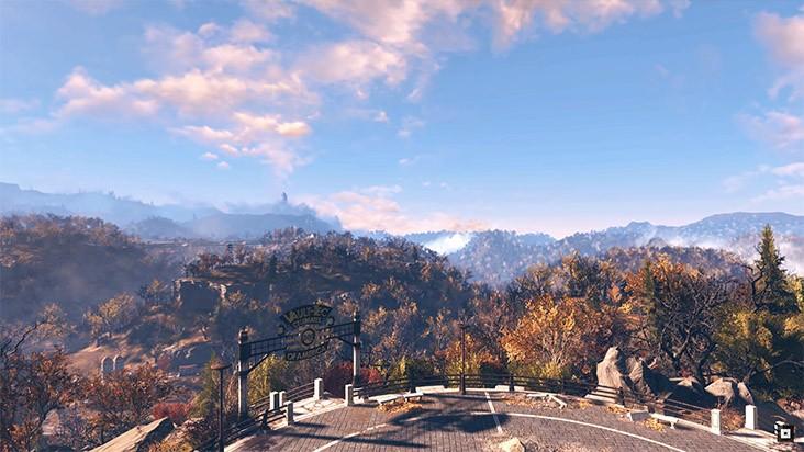 Новый геймплейный ролик Fallout 76 в 4K