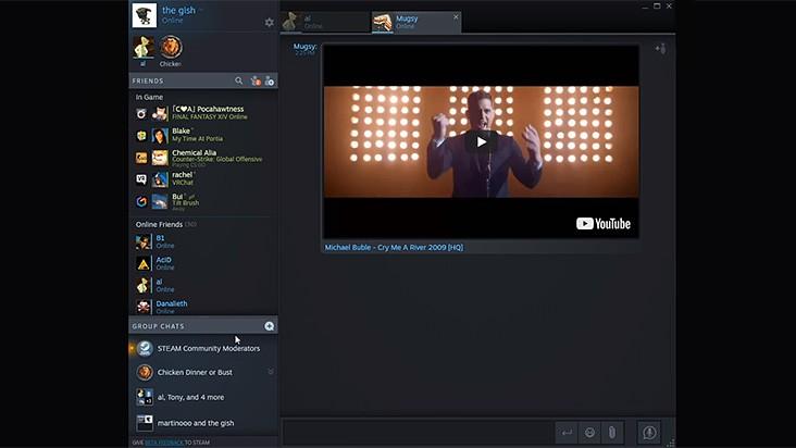 Совершенно новый улучшенный чат в Steam уже доступен