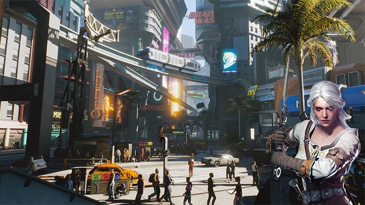 Теория: Цири из Ведьмака может появиться в Cyberpunk 2077