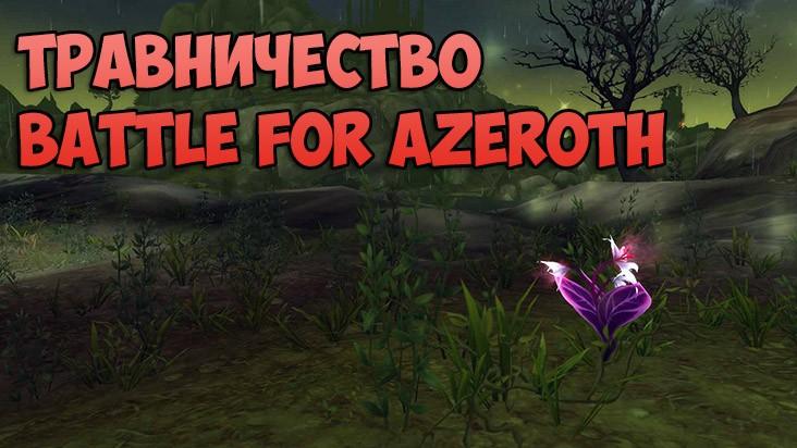 Гайд WoW: Battle for Azeroth — Травничество