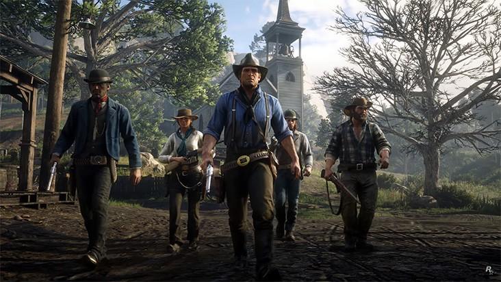Первый геймплейный ролик Red Dead Redemption 2