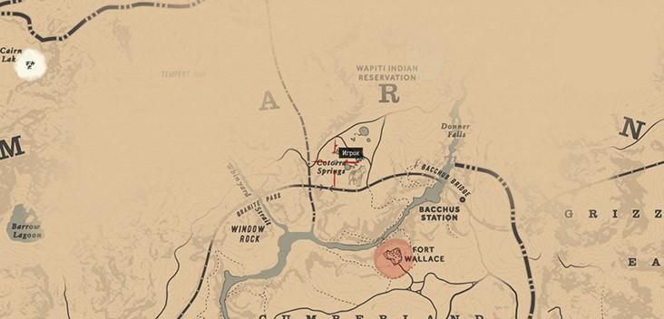 Карта сокровищ шайки Джека Холла 2