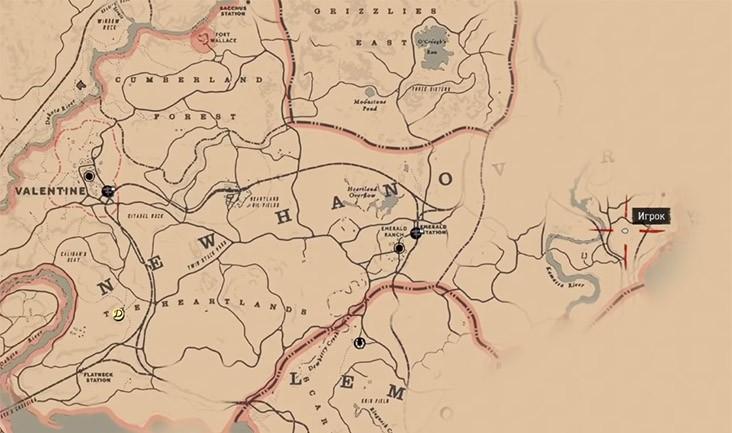 Карта сокровищ ядовитой тропы 2