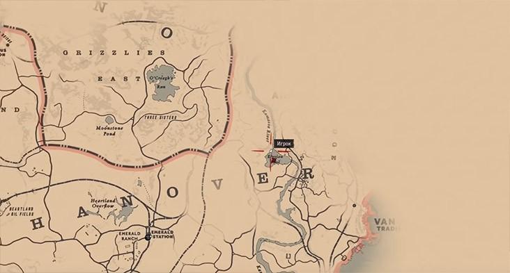 Карта сокровищ ядовитой тропы 3