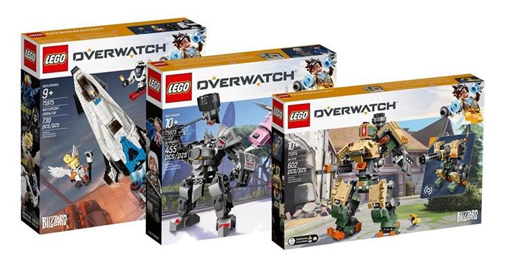 Новые наборы Lego Overwatch