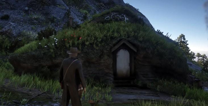 дом хоббита rdr2