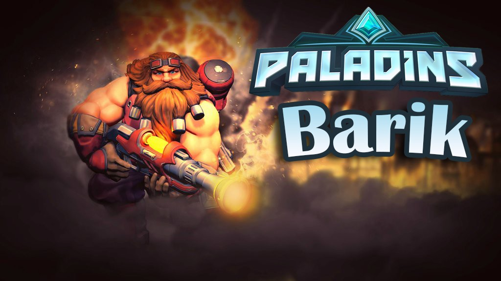 Paladins — гайд-билд на Барика