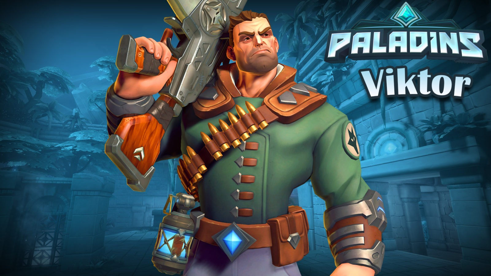 Paladins — гайд-билд на Виктора