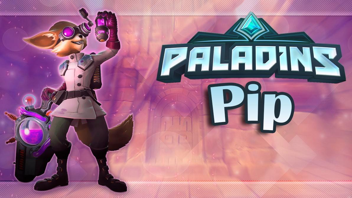 Paladins — гайд-билд на Пипа