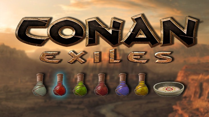 Conan Exiles — гайд по изготовлению зелья