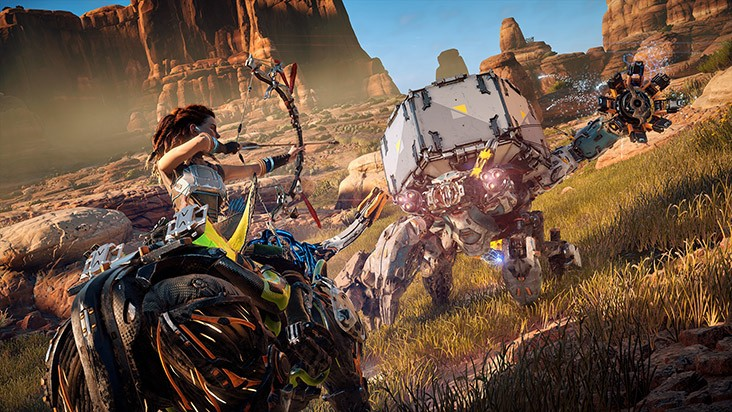 horizon zero dawn билды