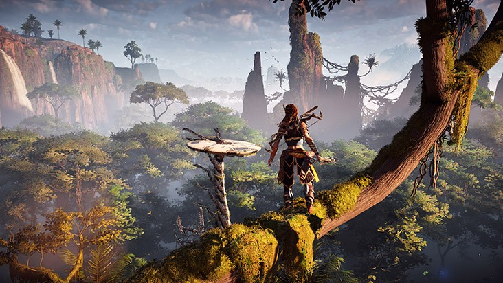 horizon zero dawn умения