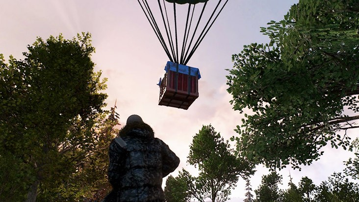 Playerunknown's Battlegrounds airdrop
