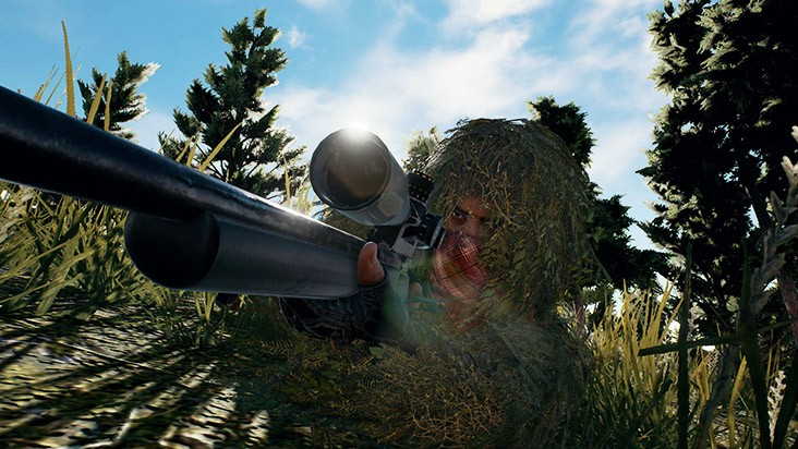 Playerunknown's Battlegrounds оружие