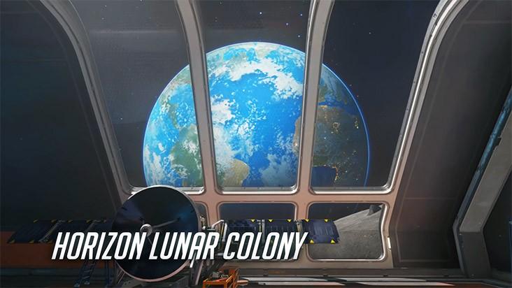 Overwatch карта Horizon