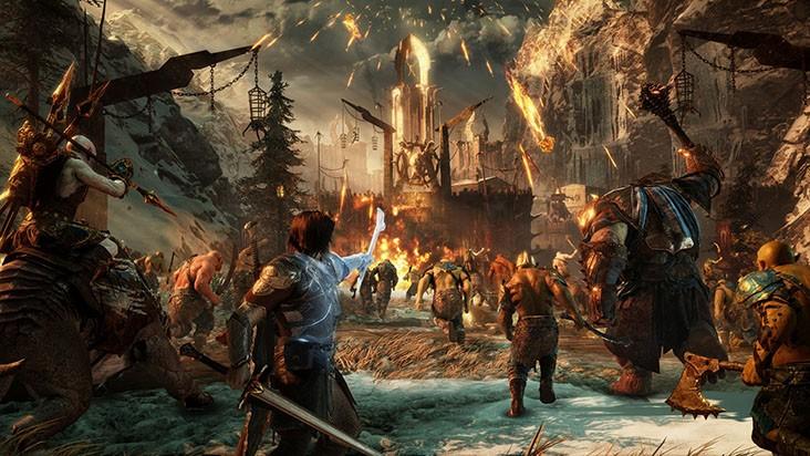 Middle-earth Shadow of War захват крепости