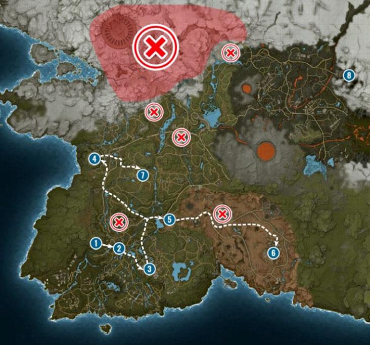 карта Elex