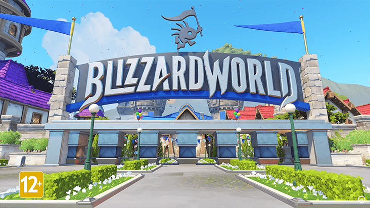 Overwatch – новая карта Blizzard World