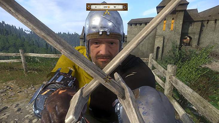 Kingdom Come Deliverance клинч