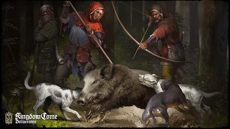 Охота в Kingdom Come Deliverance