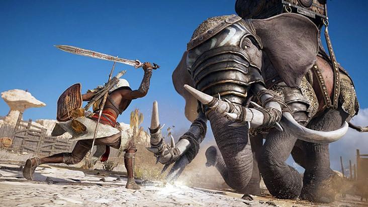 приручение животных Assassin's Creed Origins