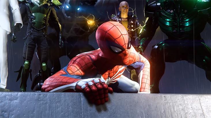 E3 2018 - новый геймплейный ролик Spider-Man