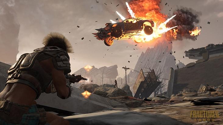 Fractured Lands - новый постапокалиптический Battle Royale
