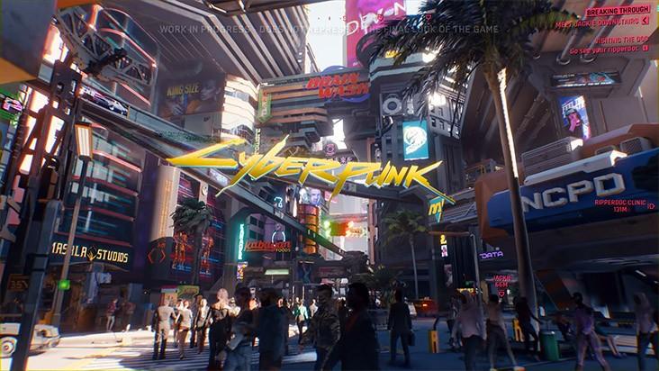 Cyberpunk 2077 – первый геймплей