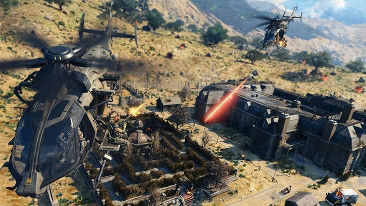 Гайд CoD Black Ops 4 Blackout - расположение вертолетов