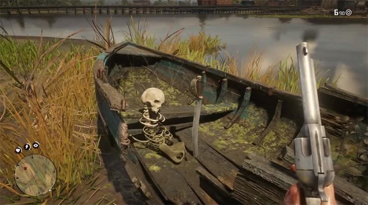 пиратская сабля rdr2