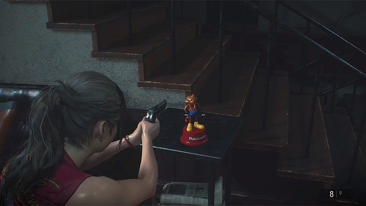Гайд Resident Evil 2 Remake – все статуэтки мистера Енота