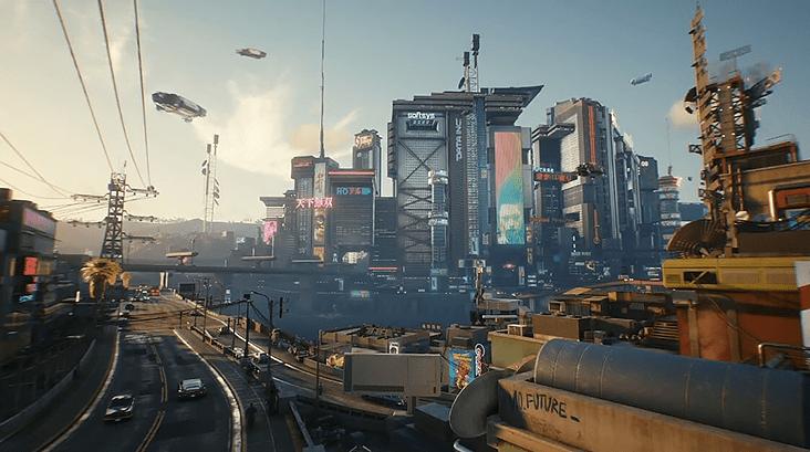 Cyberpunk 2077 – интерактивная карта Найт-Сити