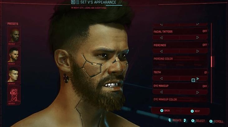 Гайд Cyberpunk 2077 – как изменить внешность Ви