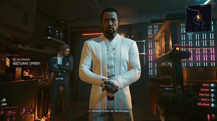 Гайд Cyberpunk 2077 – как спасти Такэмуру