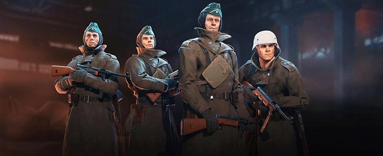 Enlisted отряды